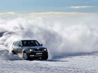 Экстремальное вождение зимой