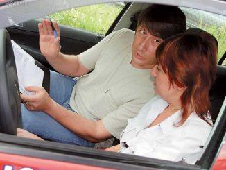 Злой инструктор по вождению